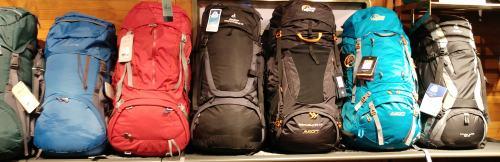 Trekkingrucksack oder Backpacker Rucksack