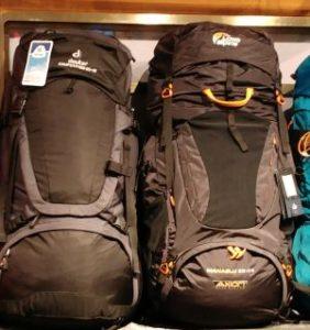 Trekkingrucksack richtig packen