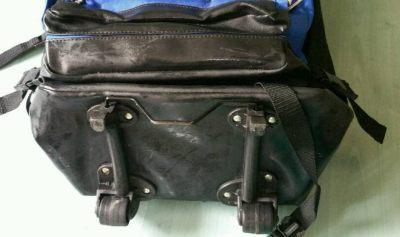 Kofferrucksack mit Rollen