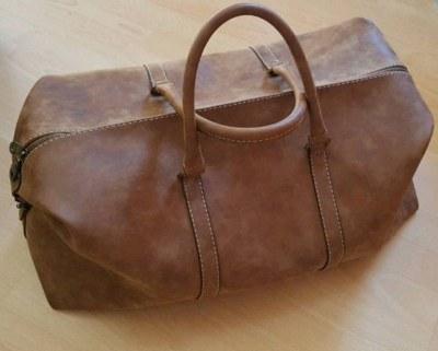 Reisetasche Echtleder