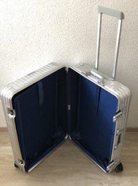 Rimowa Aluminium cabin luggage