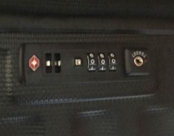 TSA Kofferschloss