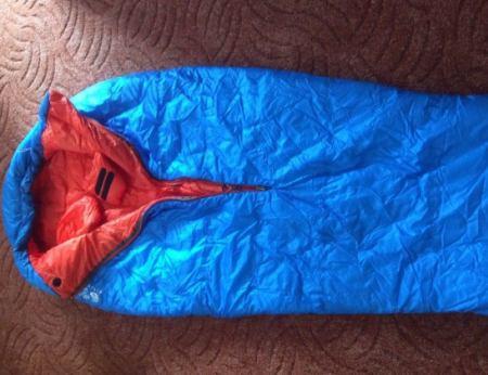 Daunenschlafsack test