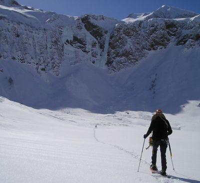 schneeschuh wandern